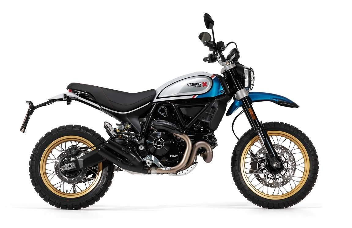 Ducati Scrambler 800 Desert Sled technical specifications